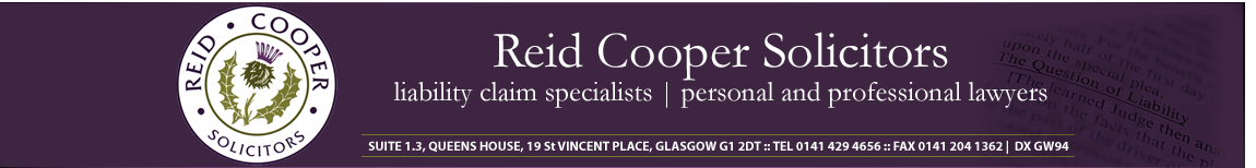 Reid Cooper Solicitors, Glasgow